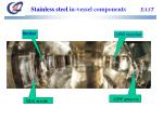 stainless steel in vessel components