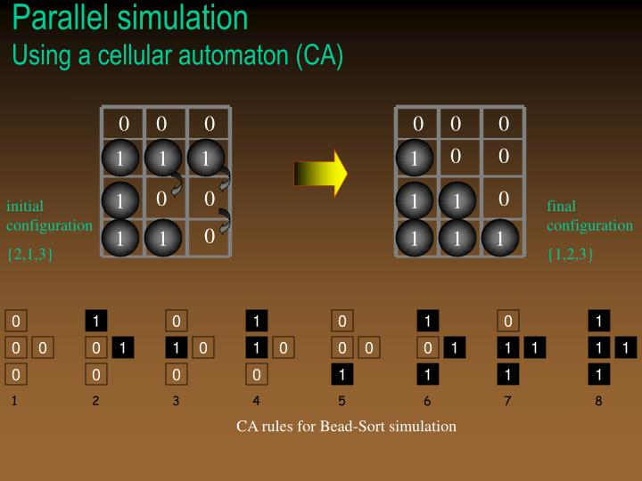 Parallel simulation