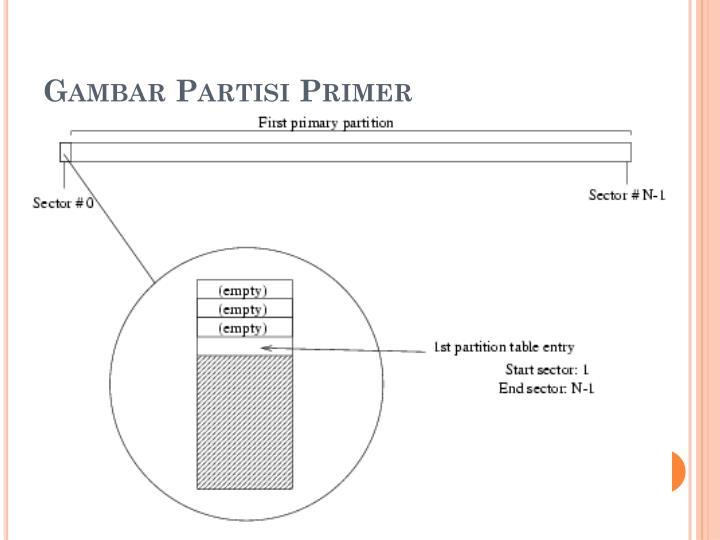 Gambar Partisi Primer
