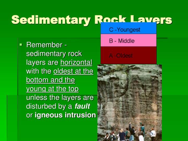 Sedimentary Rock Layers