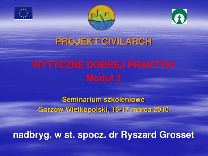 PROJEKT CIVILARCH