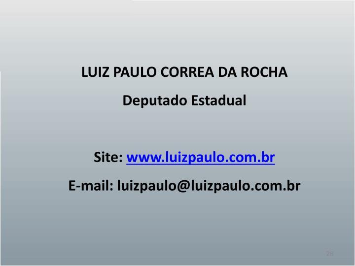 LUIZ PAULO CORREA DA ROCHA