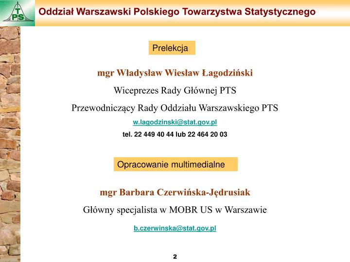 Oddział Warszawski Polskiego Towarzystwa Statystycznego
