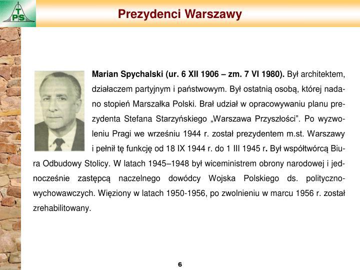 Prezydenci Warszawy