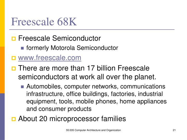 Freescale 68K
