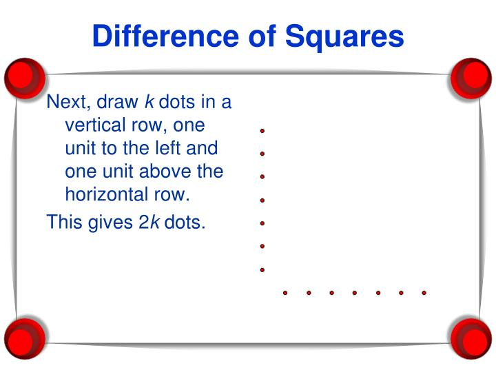 Difference of Squares