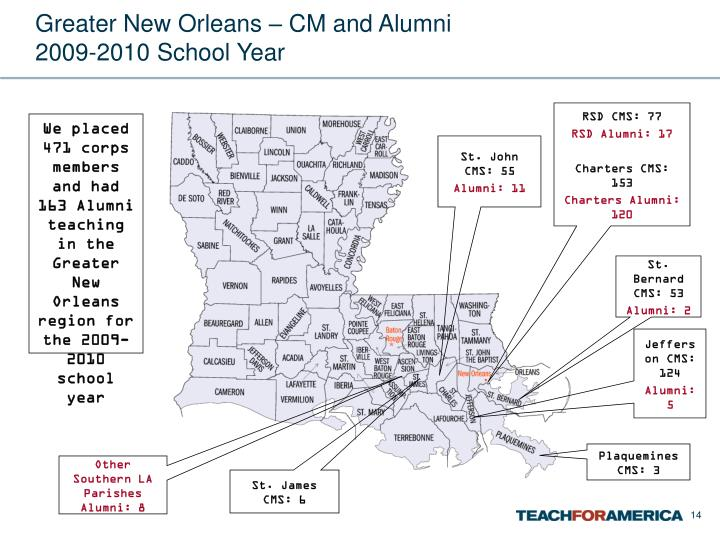 Greater New Orleans – CM and Alumni