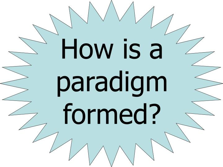 How is a paradigm