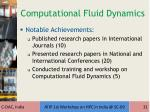 computational fluid dynamics1