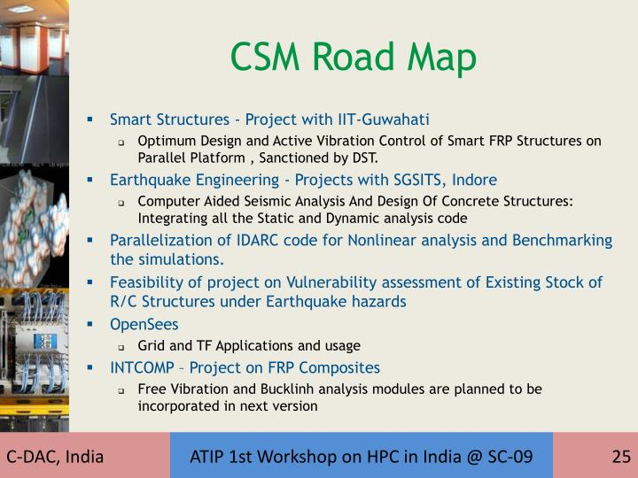 CSM Road Map