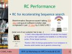 rc performance