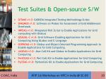 test suites open source s w