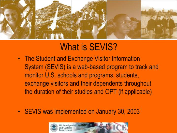 What is SEVIS?