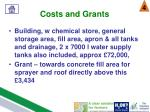 costs and grants3