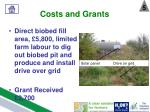 costs and grants4