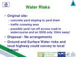 water risks2