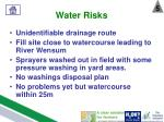water risks4