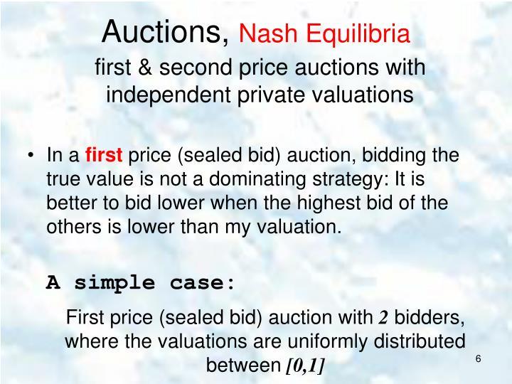 Auctions,