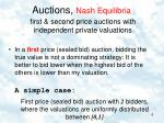 auctions nash equilibria1