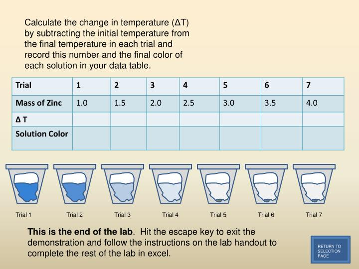 Calculate the change in temperature (
