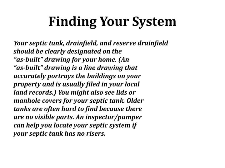 Finding Your System