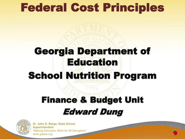 Federal Cost