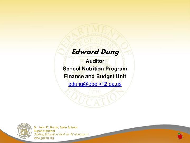 Edward Dung