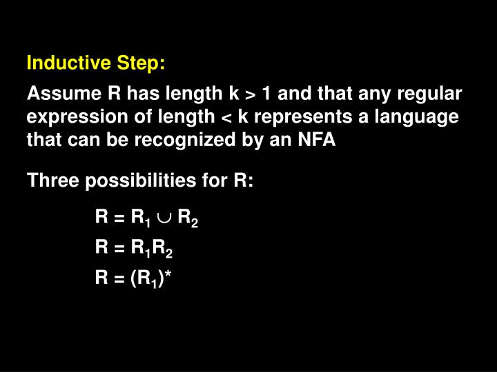 Inductive Step: