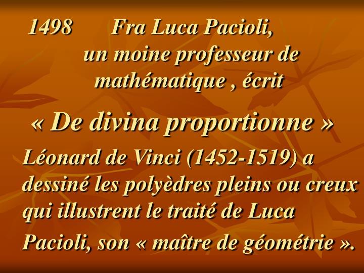 Fra Luca Pacioli,