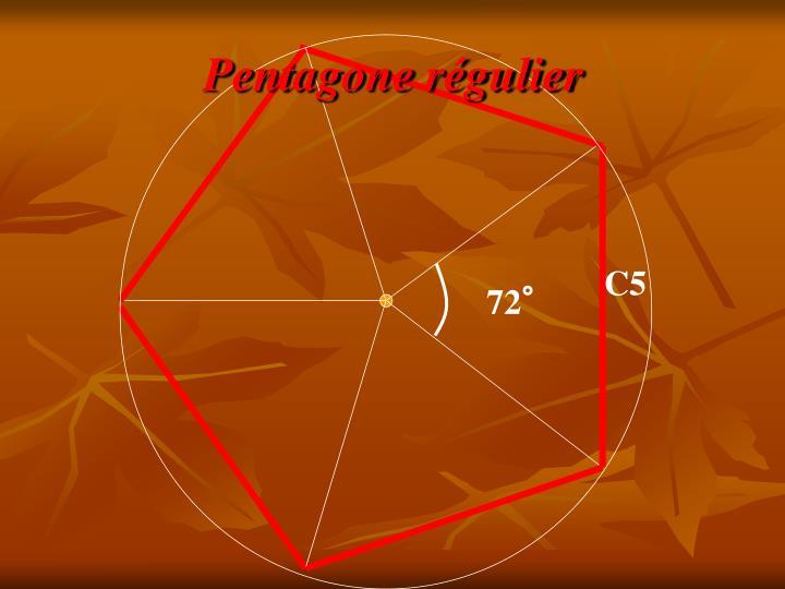 Pentagone régulier