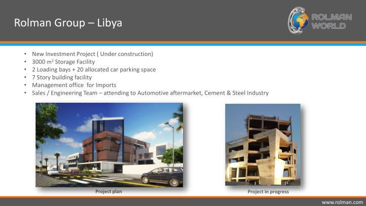 Rolman Group – Libya
