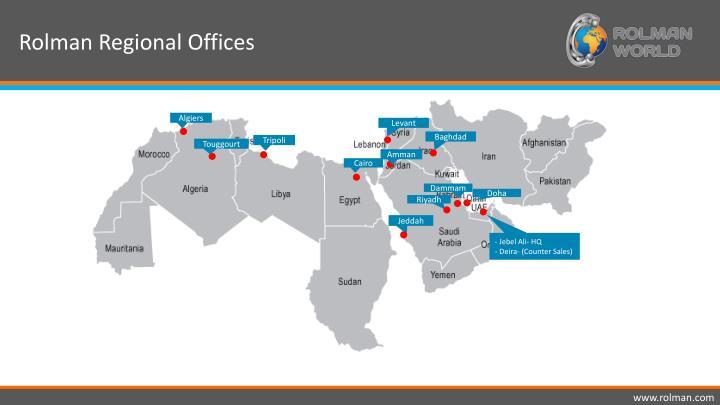 Rolman Regional Offices