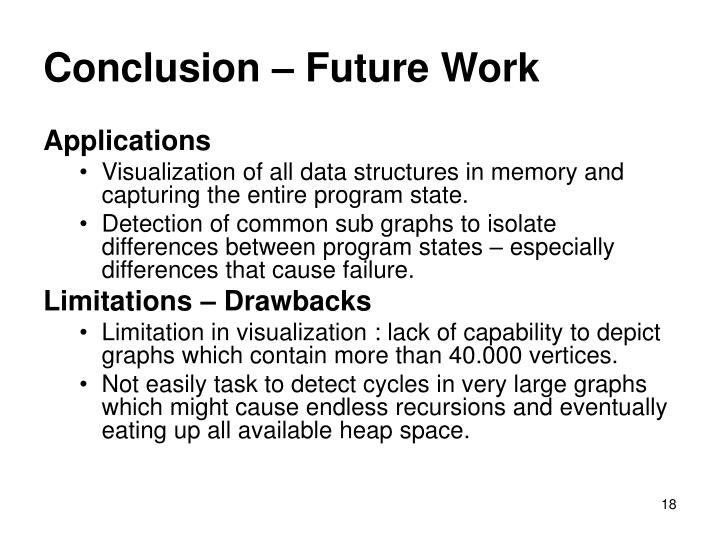 Conclusion – Future Work