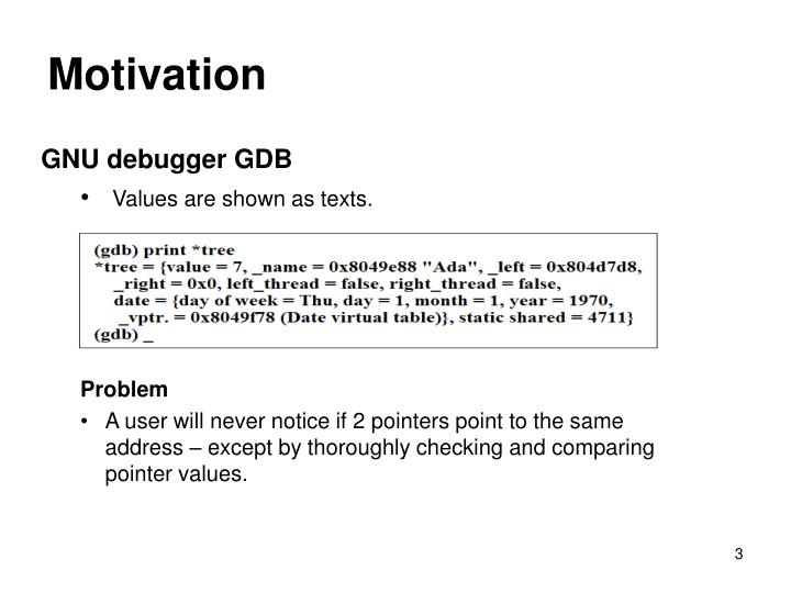 GNU debugger GDB