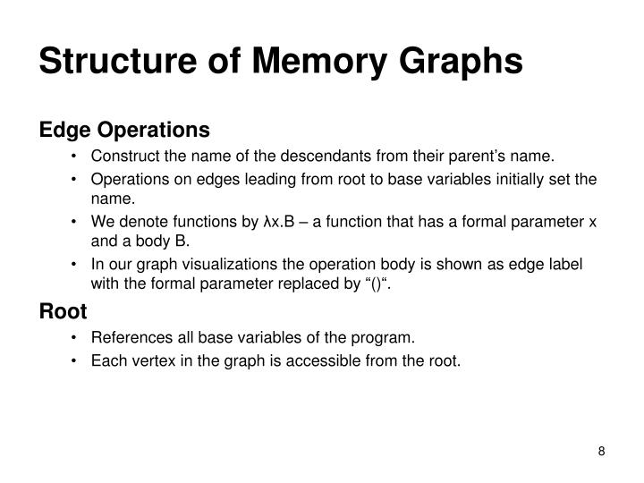 Structure of Memory Graphs