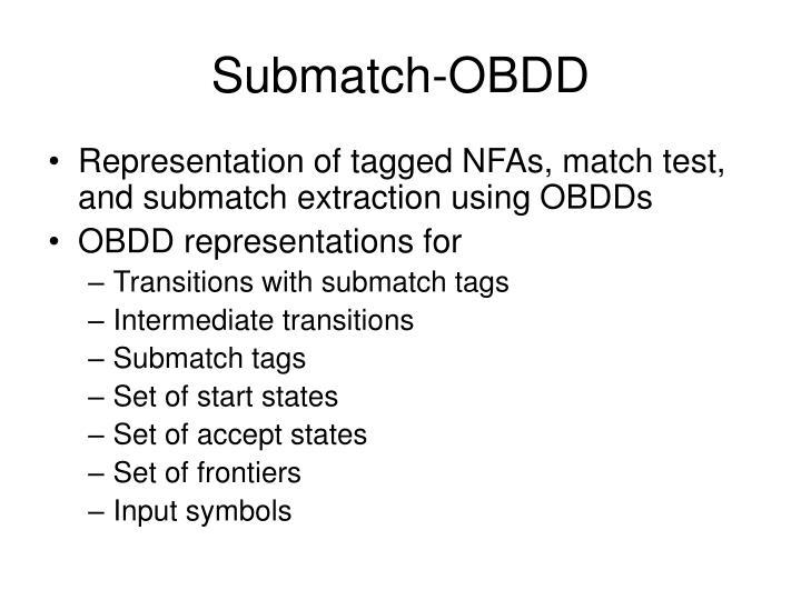 Submatch-OBDD