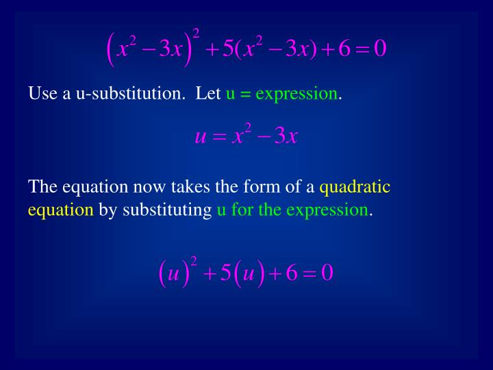 Use a u-substitution.  Let