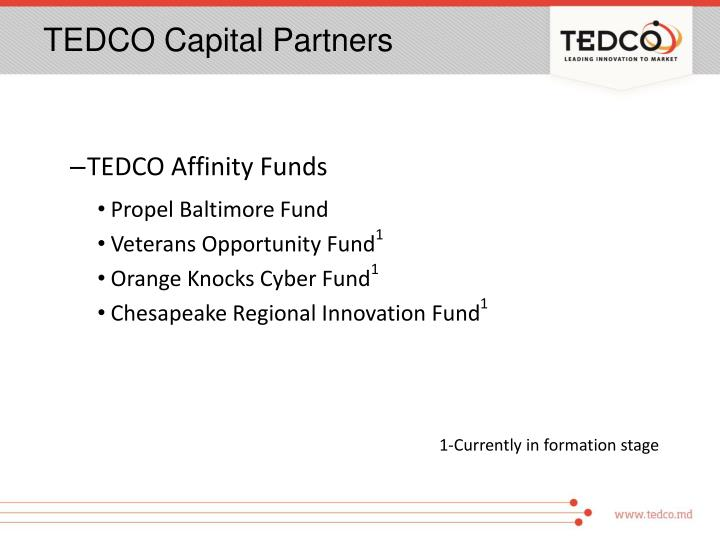 TEDCO Capital Partners