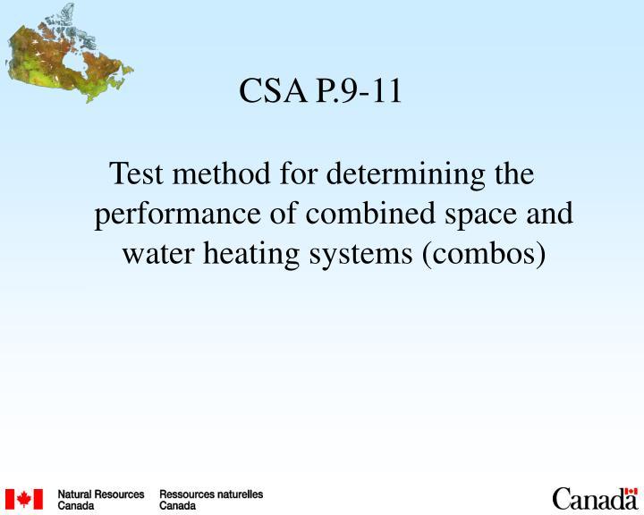 CSA P.9-11