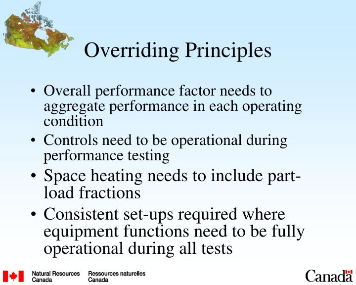 Overriding Principles