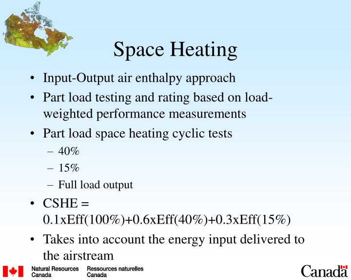Space Heating