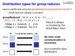 distribution types for group reduces1