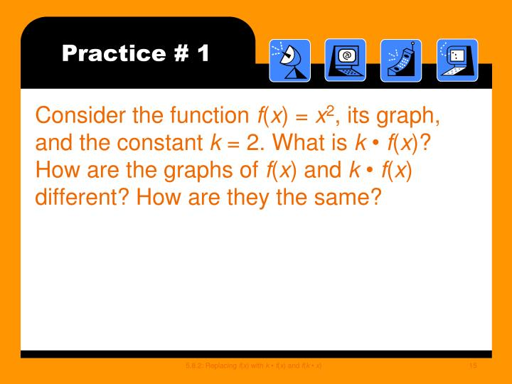 Practice # 1