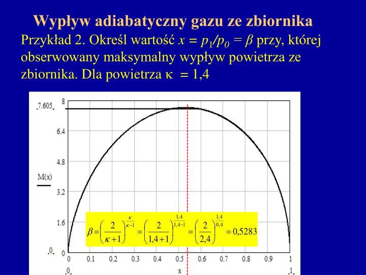 Przykład 2. Określ wartość