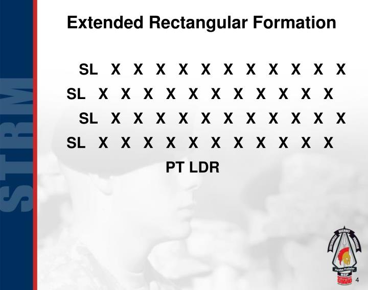 Extended Rectangular Formation