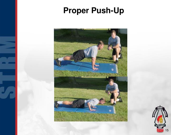 Proper Push-Up