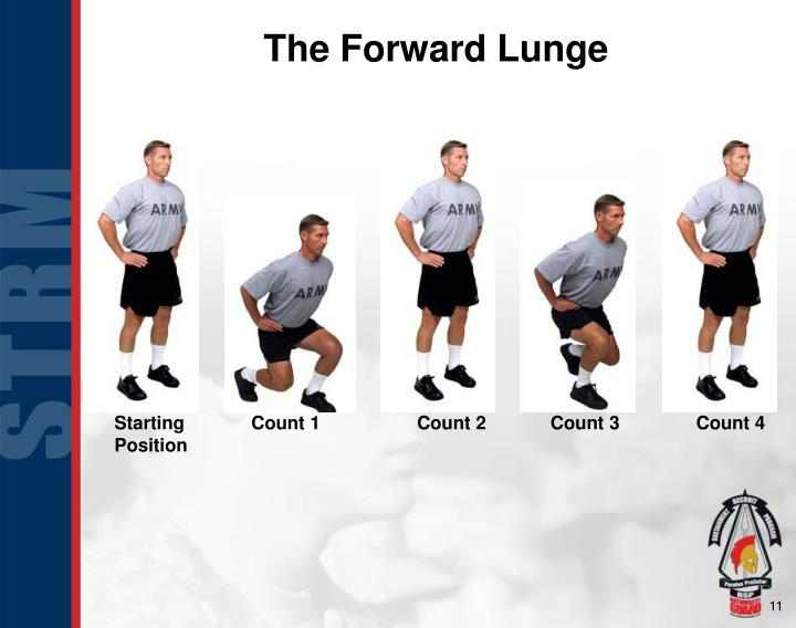 The Forward Lunge