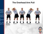 the overhead arm pull