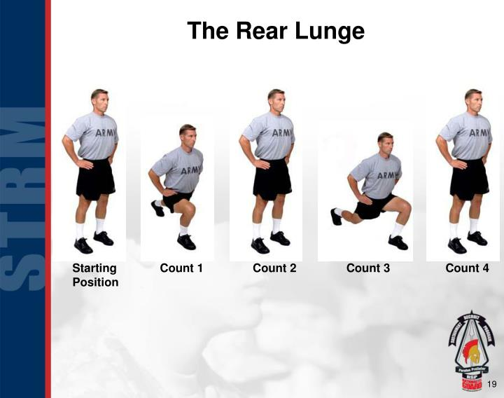 The Rear Lunge