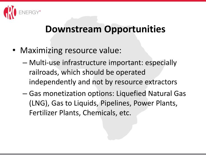 Downstream Opportunities